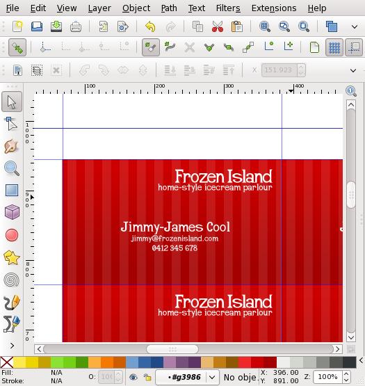 inkscape business card tutorial lerch