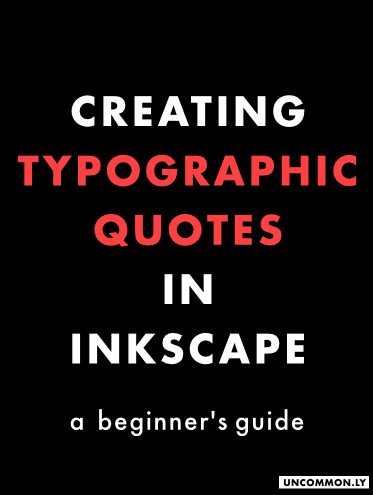 creatingtypography