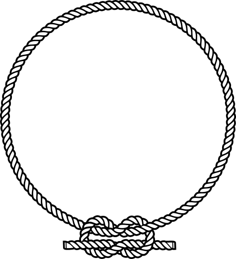 clipart rope border circle - photo #7