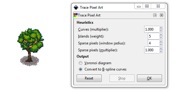 how to draw pixel art in gimp